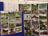 Display of photographs of Gardens Judged (2)