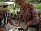 BBQ in the Walled Garden all who helped with getting the Village ready for Ulster in Bloom (11)