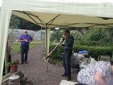 BBQ in the Walled Garden all who helped with getting the Village ready for Ulster in Bloom (12)