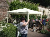 BBQ in the Walled Garden all who helped with getting the Village ready for Ulster in Bloom (15)