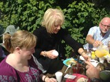BBQ in the Walled Garden all who helped with getting the Village ready for Ulster in Bloom (17)