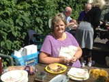 BBQ in the Walled Garden all who helped with getting the Village ready for Ulster in Bloom (18)