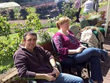BBQ in the Walled Garden all who helped with getting the Village ready for Ulster in Bloom (2)