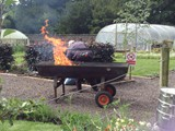 BBQ in the Walled Garden all who helped with getting the Village ready for Ulster in Bloom (6)