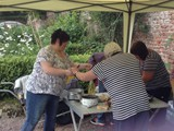 BBQ in the Walled Garden all who helped with getting the Village ready for Ulster in Bloom (7)